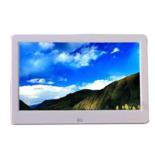 GOHHK Digitaler Fotorahmen 10-Zoll-HD-elektronisches LCD-elektronisches LCD-Fotoalbum für kommerzielle Werbemaschinen Videoplayer Digitale Bilderrahmen