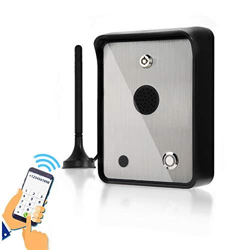 Citofono audio GSM, controller di accesso apriporta Sistema di controllo accessi citofono in acciaio inox per cancello apri Controller di accesso sicurezza visitatori