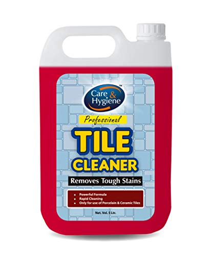 Care And Hygiene Tile Cleaner 5ltrs,Descaler, Removes Heavy Stains from Tiles and Ceramics.