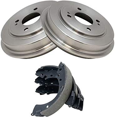 Rear Brake Drum and Shoe Kit Max 66% OFF 2001-2005 with - H Low price Compatible