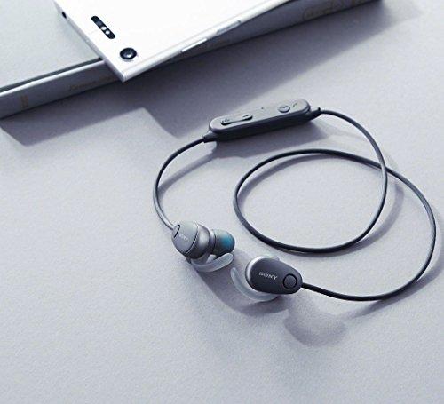 ソニーワイヤレスノイズキャンセリングステレオヘッドセットWI-SP600N:AmazonAlexa搭載/マイク付きWI-SP600NBM