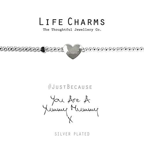 Life Charms Yummy Mummy Silver Plated Bracelet
