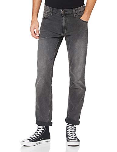 Wrangler Herren Authentic Straight Jeans, Grau (Grey), 42W / 30L