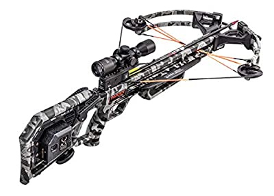 Wicked Ridge Invader 400 Crossbow Package with Pro-View Scope and ACUdraw Cocking Device, Peak