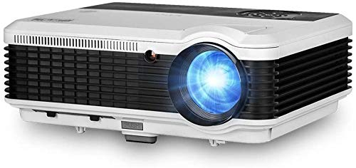 LCD HDMI Bluetooth Projector HD 4600lm X&Y Zoom WiFi Wireless Home Cinema Projector 1080P Supported Compatible with Airplay EShare Android OS USB DVD Blu ray Gmae Laptop Digital TV Proyector