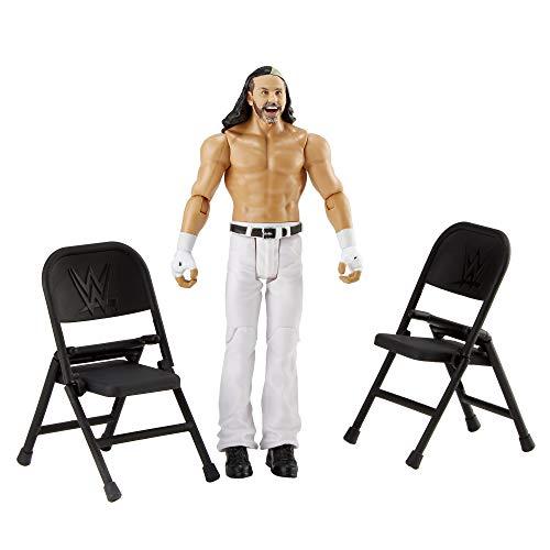 WWE- Wrekkin' Action Figure con Accessori, Giocattolo per Bambini 6+ Anni, 15 cm, GGP05