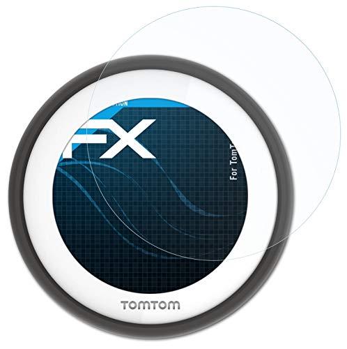 atFoliX Lámina Protectora de Pantalla Compatible con Tomtom VIO Película Protectora, Ultra Transparente FX Lámina Protectora (3X)