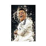 Mesut Ozil Fußball-Poster, Leinwand-Poster, Wandkunst,
