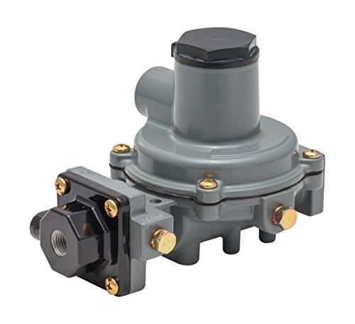 Emerson-Fisher LP-Gas Equipment R232A-BBFXA Compact Integral 2-Stage Regulator, 1/4' x 1/2' NPT, 9.5-13' w.c. Spring, Vent Opposite Tap
