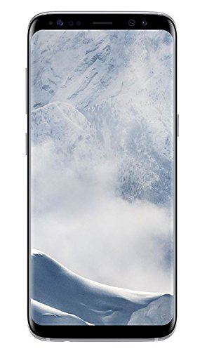 Samsung Galaxy S8 Smartphone (5,8 Zoll (14,7 cm) Touch-Display, 64GB interner Speicher, Android OS) arctic silver(Generalüberholt)