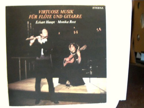 Virtuose Musik für Flöte und Gitarre, Erscheinungsjahr 1983