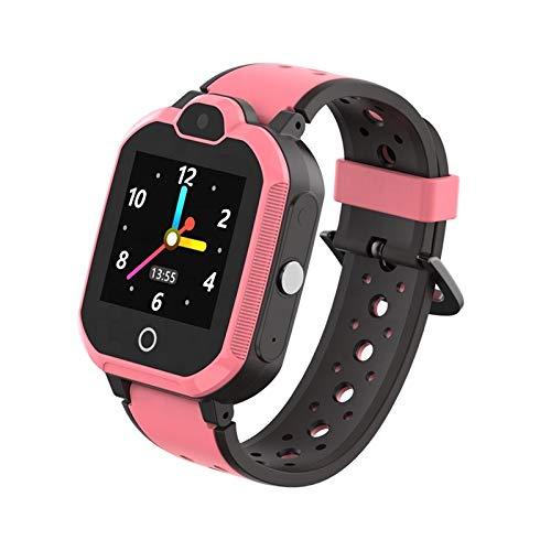 Simmotrade® 4G/LTE GPS Tracker Uhr für Kinder. Simmotrade® 4G/LTE GPS Tracker Uhr für Kinder - Vergleichssieger beim ComputerBild Test: Beste Kinder-Smartwatches (pink)