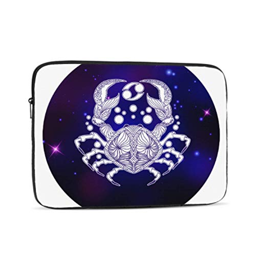 Mac Air Case Colorful Cool Cancer Zodiac Horoscope MacBook Laptop Cover Multi-Color & Size Choices10/12/13/15/17 Inch Computer Tablet Briefcase Carrying Bag