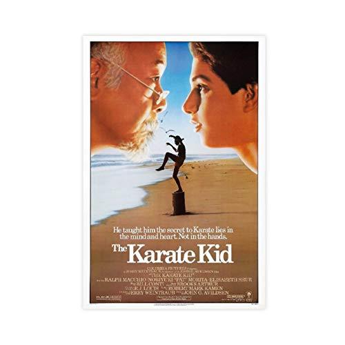 Filmposter The Karate Kid All Valley Championship Turnier 80er Jahre Film Poster 2 Leinwand Poster Schlafzimmer Dekor Sport Landschaft Büro Zimmer Dekor Geschenk 60 x 90 cm ohne Rahmen style1