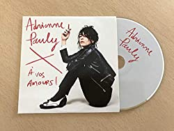 Adrienne Pauly - A vos Amours! 10-trk - CD - PROMOTIONAL ITEM