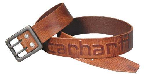 Carhartt Gürtel mit Logo Logo Belt schwarz oder braun (38, rotbraun)