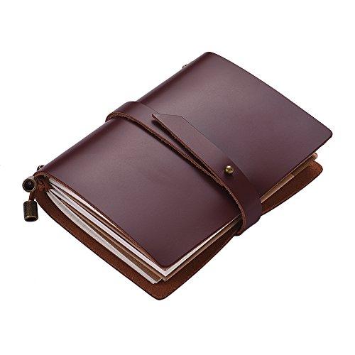 Cuaderno diario de viaje portátil Aibecy