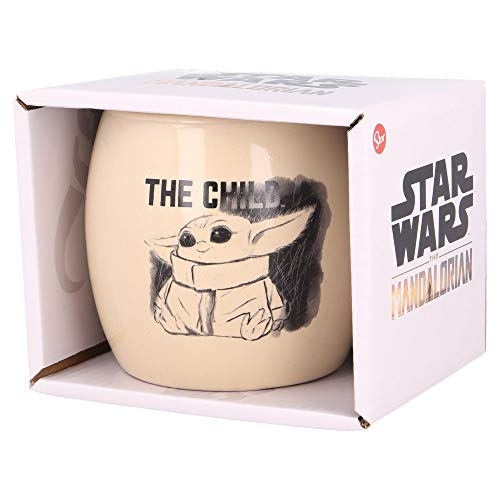 TAZA CERAMICA NOVA EN CAJA REGALO THE CHILD MANDALORIAN