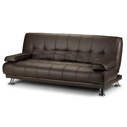 Brown Leather Sofa Bed: Amazon.co.uk