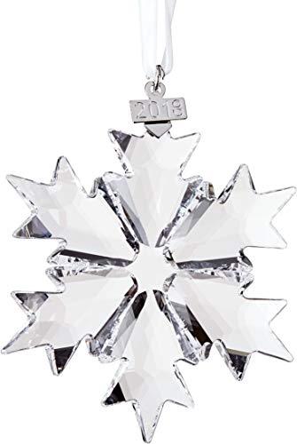 SWAROVSKI Annual Edition 2018 Christmas Ornament, Large, Clear Crystal