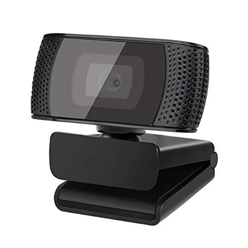 KXHWSH Webcam HD 720p/30fps 360 ° Drehung Mehrere Installationsmethoden Eingebautes Mikrofon USB Plug and Play, für Online-Unterricht, Video-Chat, Regierungsbüro Verwendet Werden