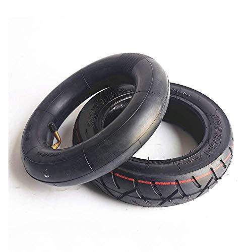 CHHD Neumáticos para patinetes eléctricos, 10X2.50 Neumáticos Interiores y Exteriores Antideslizantes Resistentes al Desgaste, Neumáticos de vacío 10X2.70-6.5 a Prueba de explosiones, A