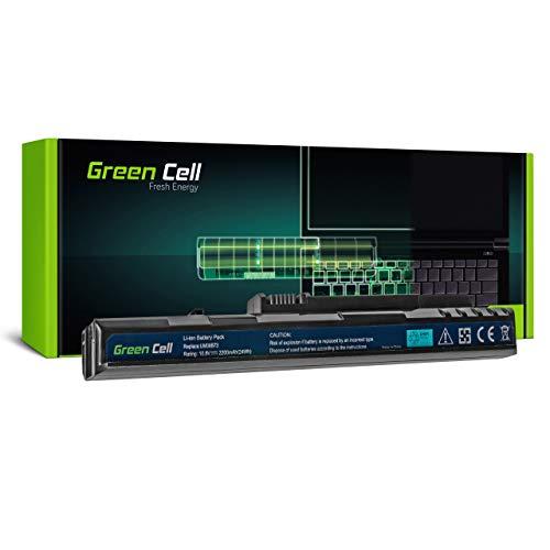 Green Cell Batería para Acer Aspire One D250-1633 D250-1838 D250-BK KAV10 KAV60 P531 P531H P531H-1791 Pro 531 531H-0BK ZG5 eMachines EM250 EM250-01G16I Portátil (2200mAh 10.8V Negro)