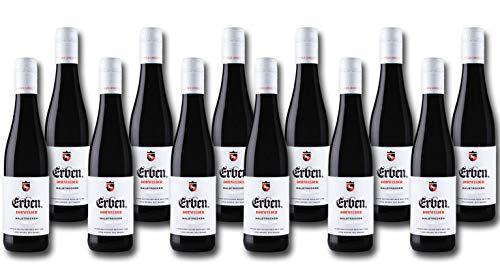 ERBEN Dornfelder Halbtrocken (12 x 0.25 l) Rotwein Deutschland Qualitätswein Pfalz