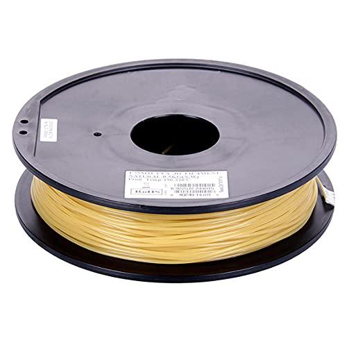 Acqua Solubile PVA Filamento Filamento Stampante 3D Filamento 0,5 kg (1.1lbs) Materiale di supporto del filamento di stampa 3D per la stampante 3D-Naturale_2.85mm.