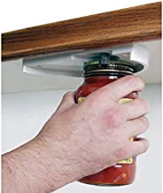 Can Opener - Attach To Bottom of Cabinets To Unscrew Jars, Cans and More