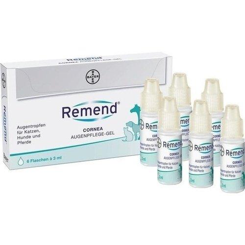 REMEND Cornea Augenpflege-Gel f.Hund/Katze/Pferd 6X3 ml