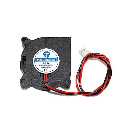 Durable 40x40x20mm 4020 ventiladores 5/12/24 voltios ventiladores de CC sin escobillas para disipador de calor radiador de refrigeración para piezas de impresora 3d 4020 ventilador de refrigeración pi