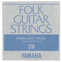 YAMAHA/ヤマハ FS-522×12 フォーク弦/ライト/2弦×12(FS522)
