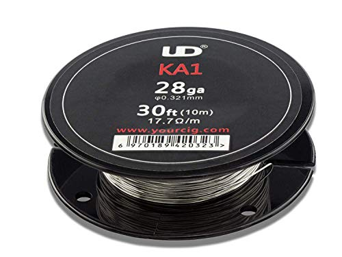 UD Youde – Alambre Kanthal A1 – 28 AWG/0,30 mm – 10 M