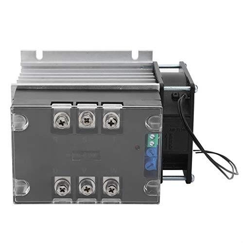 Parte inferior de aluminio TSR-30WA-R1 (3KW) Controlador de motor trifásico 50-60HZ para ventiladores(Module + radiator)
