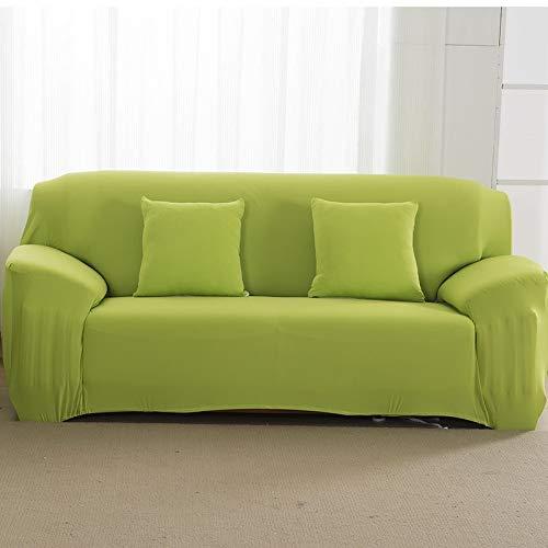 Fundas de sofá de Color sólido para Sala de Estar Fundas elásticas Funda de sofá de Material elástico Funda de sofá de Esquina A12 2 plazas