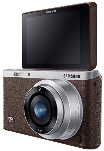 Samsung Electronics NX Mini EV-NXF1ZZB1JUS Wireless Smart 20.5MP Compact System Camera