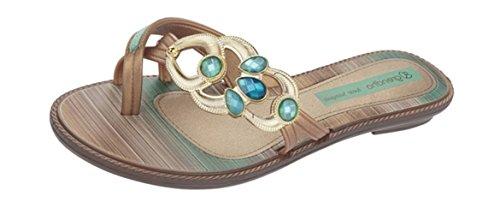 Grendha - Sandalias para Mujer Turquesa Turquesa