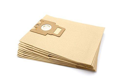vhbw 10 sacchetti in carta per aspirapolvere Miele Titanium, Top Model, Topas, Topas Plus, Torino,...