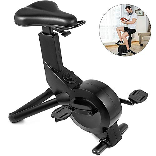 ZGYQGOO Leichter stehender Heimtrainer-Sitz Indoor Fitness Beintrainer Magnetisch Klein Widerstand anpassen Leichtes Bewegen Für das Büro zu Hause