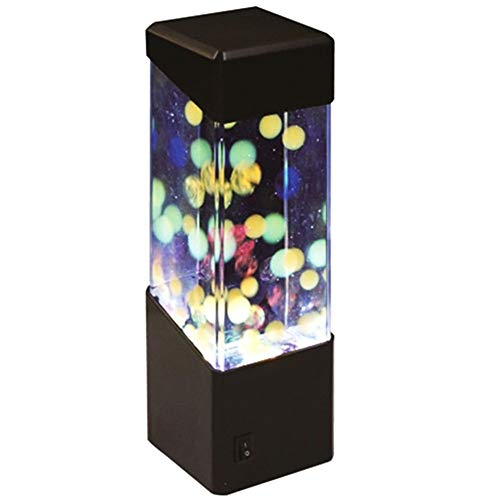 XHSHLID LED Desktop RGB Verandering Aquarium lichten ontspannend nachtkastje beweging nacht kwallen lamp vakantie kinderen geschenk