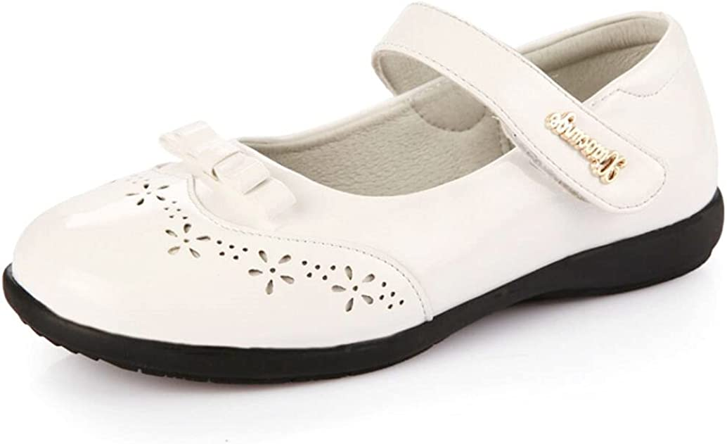 JGKDTX Girl's Classic Mary Jane Flat School Uniform Oxford Party Princess Dress Shoes for Toddler/Little Kid