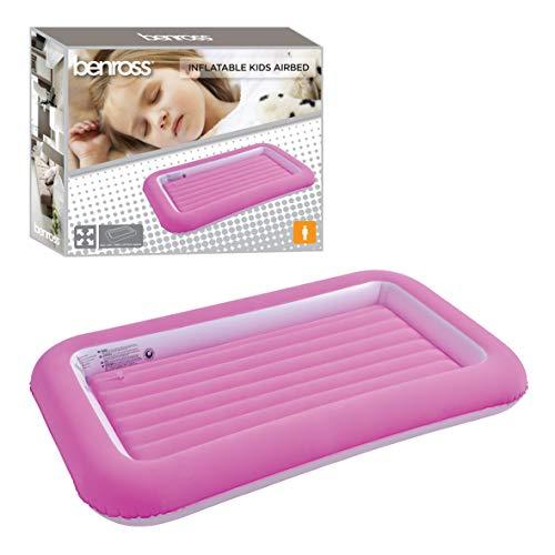 Benross Mädchen Inflatable Luftbett, Rose, Einheitsgröße