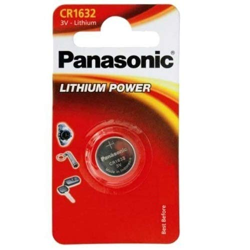 Panasonic CR1632 Lithium Batterie 3V, Packung mit 2