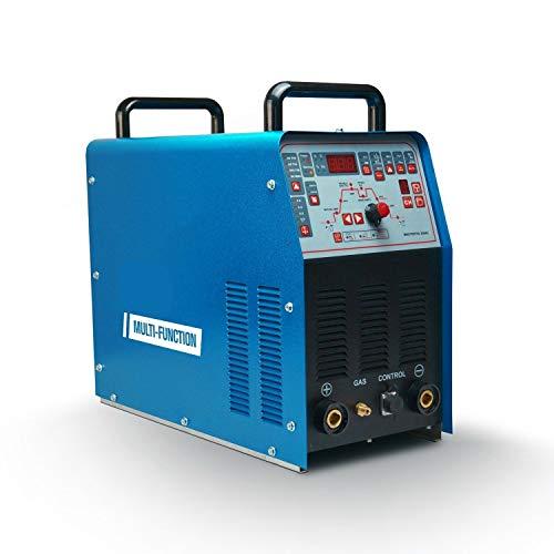 EODUDO-welding Saldatrice Saldatrice TIG 3IN1, 250AMP IGBT Saldatrice ad Inverter Saldatrice ad Inverter Multi-Funzione 220V AC/DC TIG/MMA Saldatrice TIG Portatile,Facile da Usare