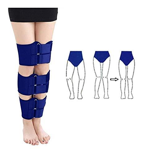 RJDL X/O-Form-Bein-Korrektur Gürtel, Corrector Professionelle Haltung Knees Klopfen Valgusdeformität Bogen Beine Korrektur Brace Gürtel Erwachsene (3Pcs) 914
