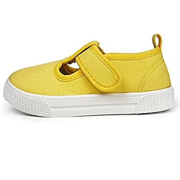 yellow canvas shoes toddler