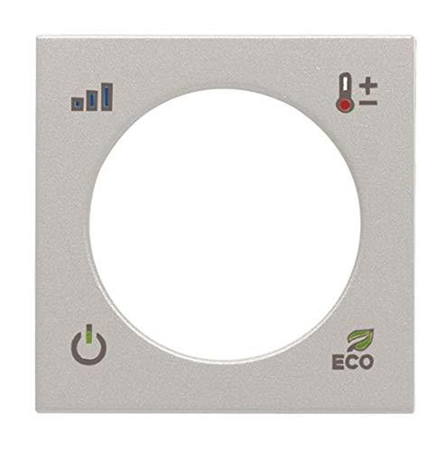 Niessen Zenit–ZENIT Deckel Thermostat KNX silber