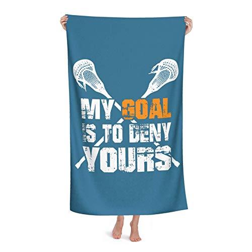 Toallas De Gimnasio Mi Objetivo Es Negar El Tuyo Towels Ligera Toalla Deportiva Secado Rápido Toalla De Playa por Viaje SPA Hogar 80X130 Cm