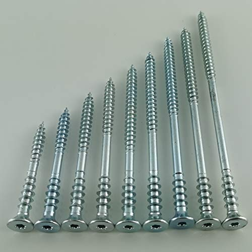Profi Justierschrauben 6 mm Durchmesser Abstandsschrauben Distanzschrauben verz TX 25 (100, 6 x 60 mm)